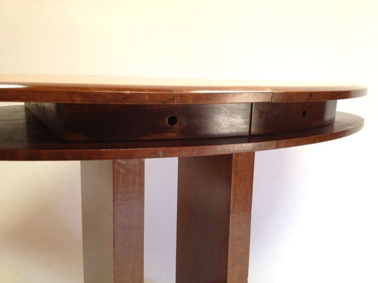 Foyer Table Base : Unique oval shaped console entry foyer table with drawers