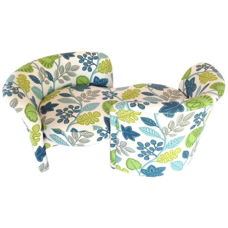 Milo baughman adjustable loveseat tete a tete sofa for - Tete a tete sofa ...