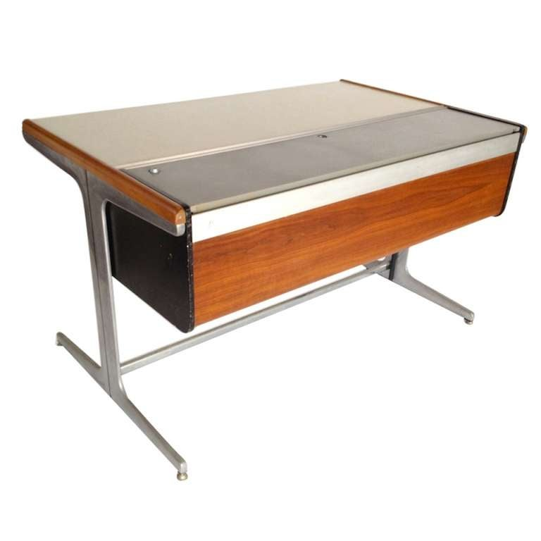 George Nelson Action One Office Architects Desk For Herman