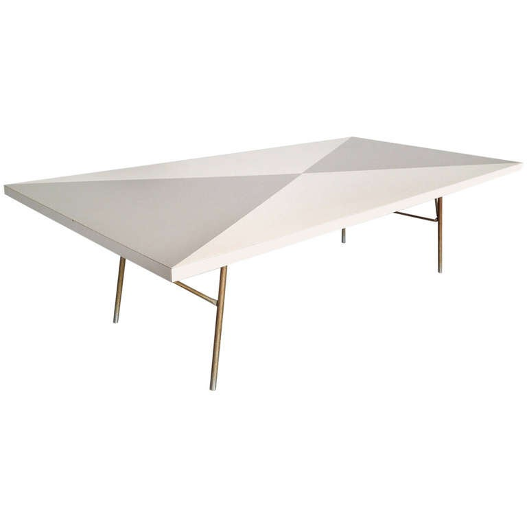 Rare George Nelson Coffee Table For George Nelson Associates