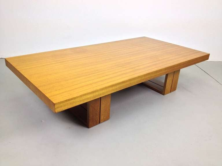 Van Keppel Green Vkg Camel Convertible Dining Or Coffee Table For Brown Saltman At 1stdibs
