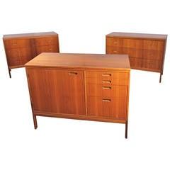 Mid-Century Small Teak Dressers