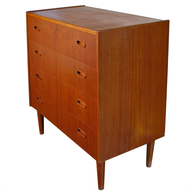Scandinavian teak bedroom furniture