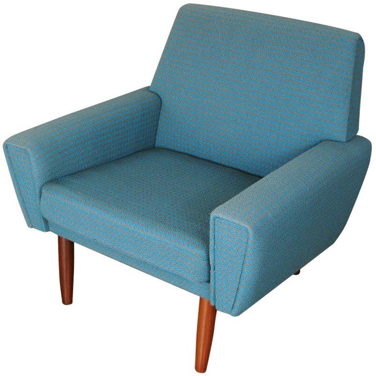 Danish Modern Arm Chair At 1stdibs