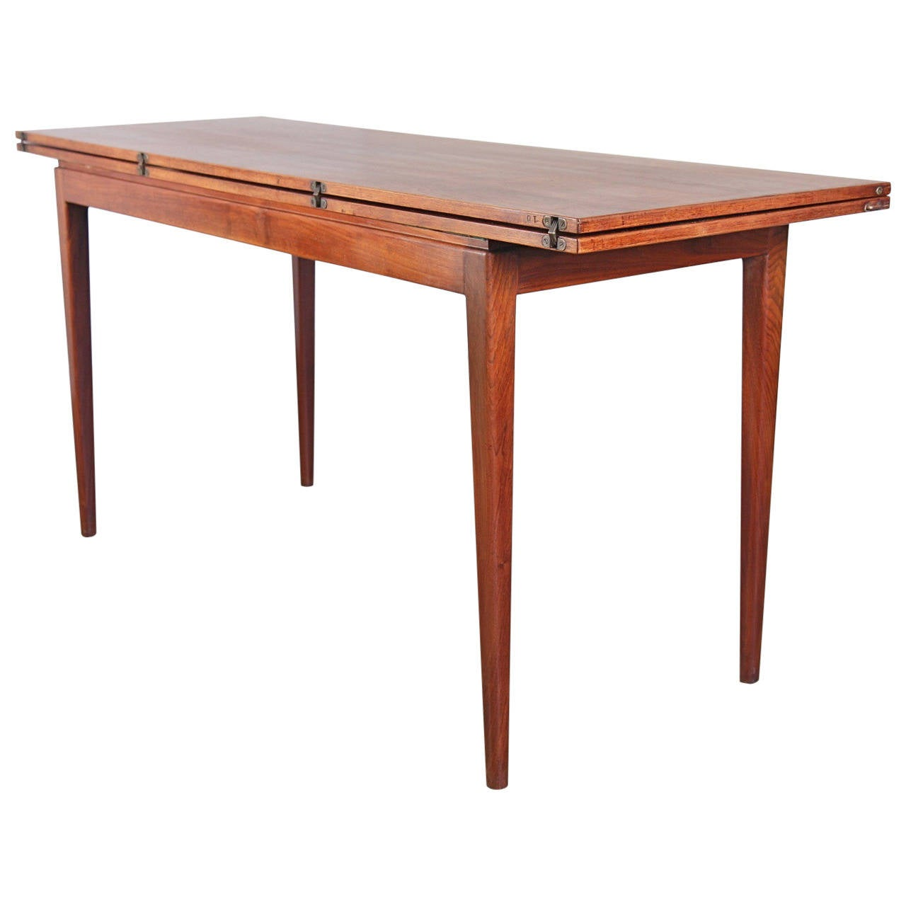 jens risom t 170 console dining table at 1stdibs