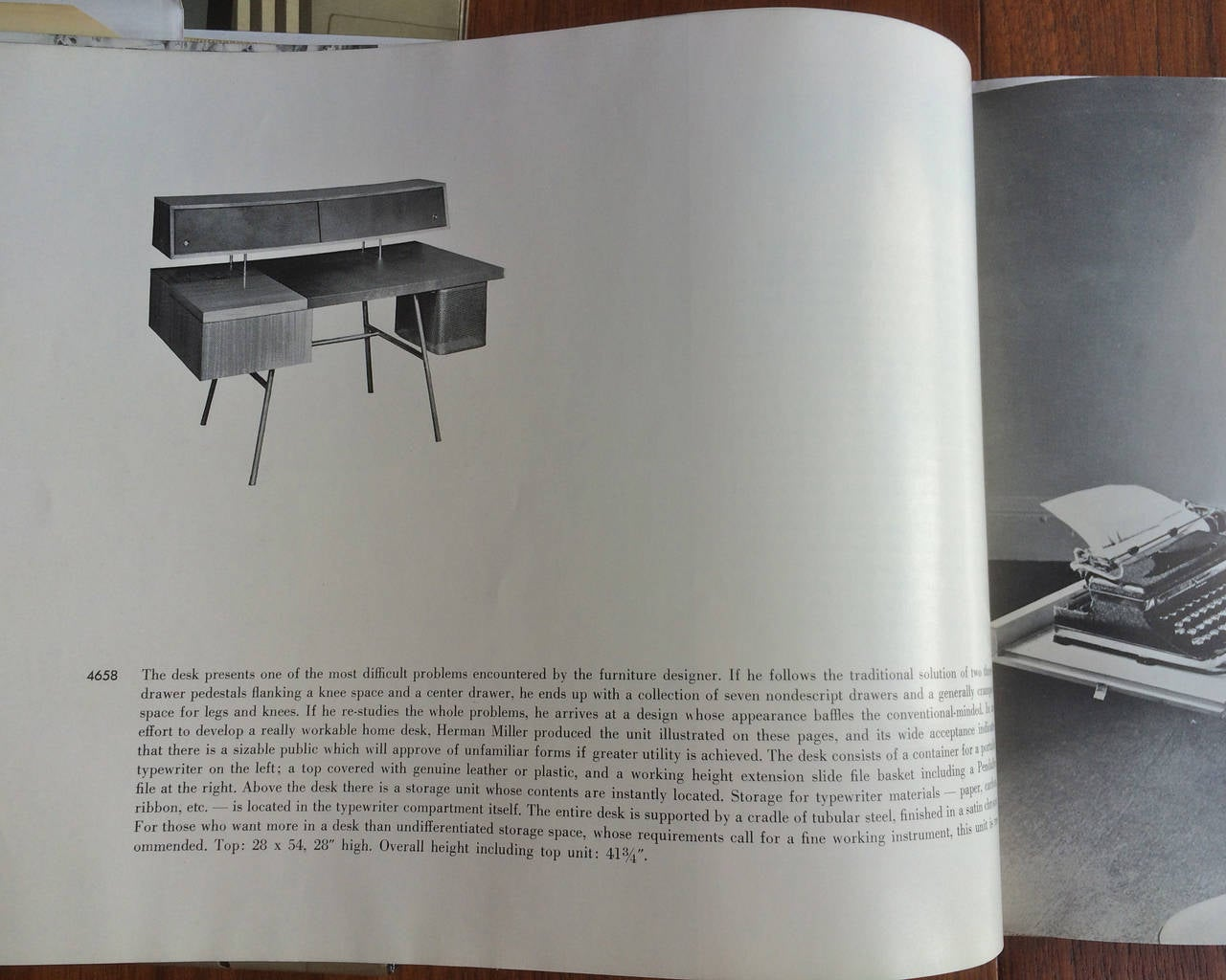 the herman miller collection catalog 1950 scarce at 1stdibs. Black Bedroom Furniture Sets. Home Design Ideas