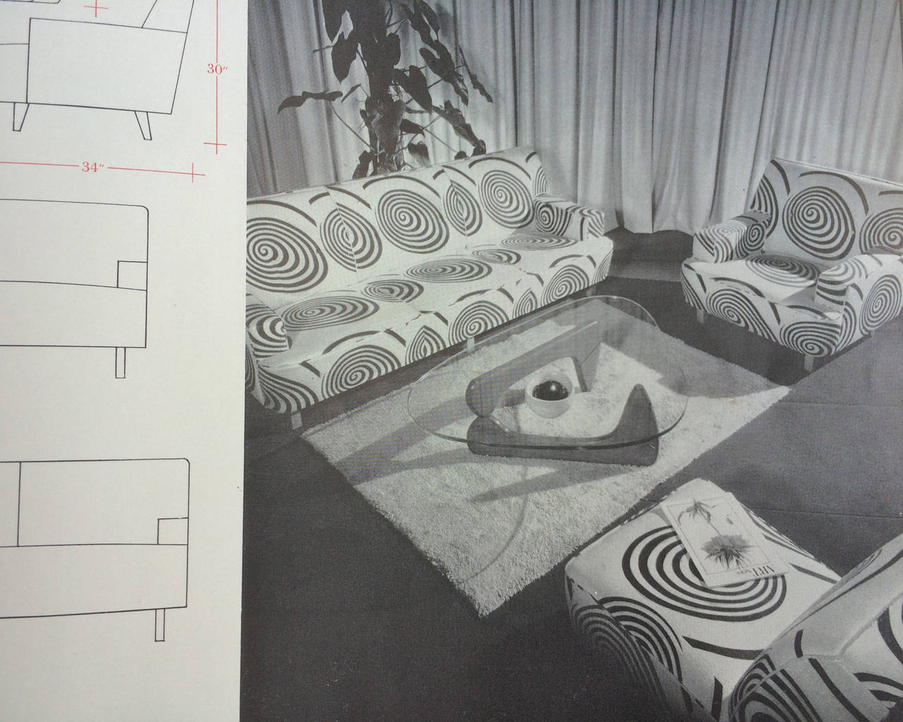 the herman miller collection catalog 1950 scarce at 1stdibs. Black Bedroom Furniture Sets. Home Design Ideas