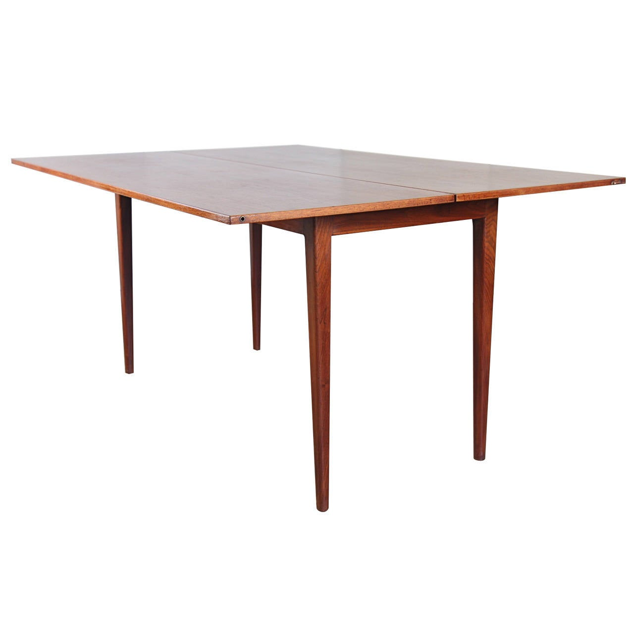 jens risom t-170 console dining table at 1stdibs