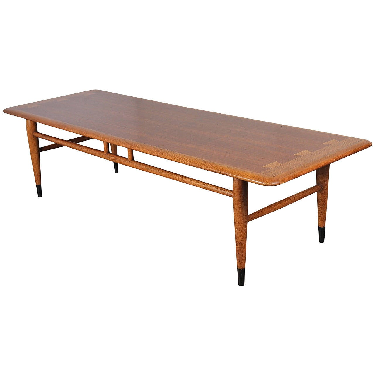 Mid-Century Lane Coffee Table At 1stdibs