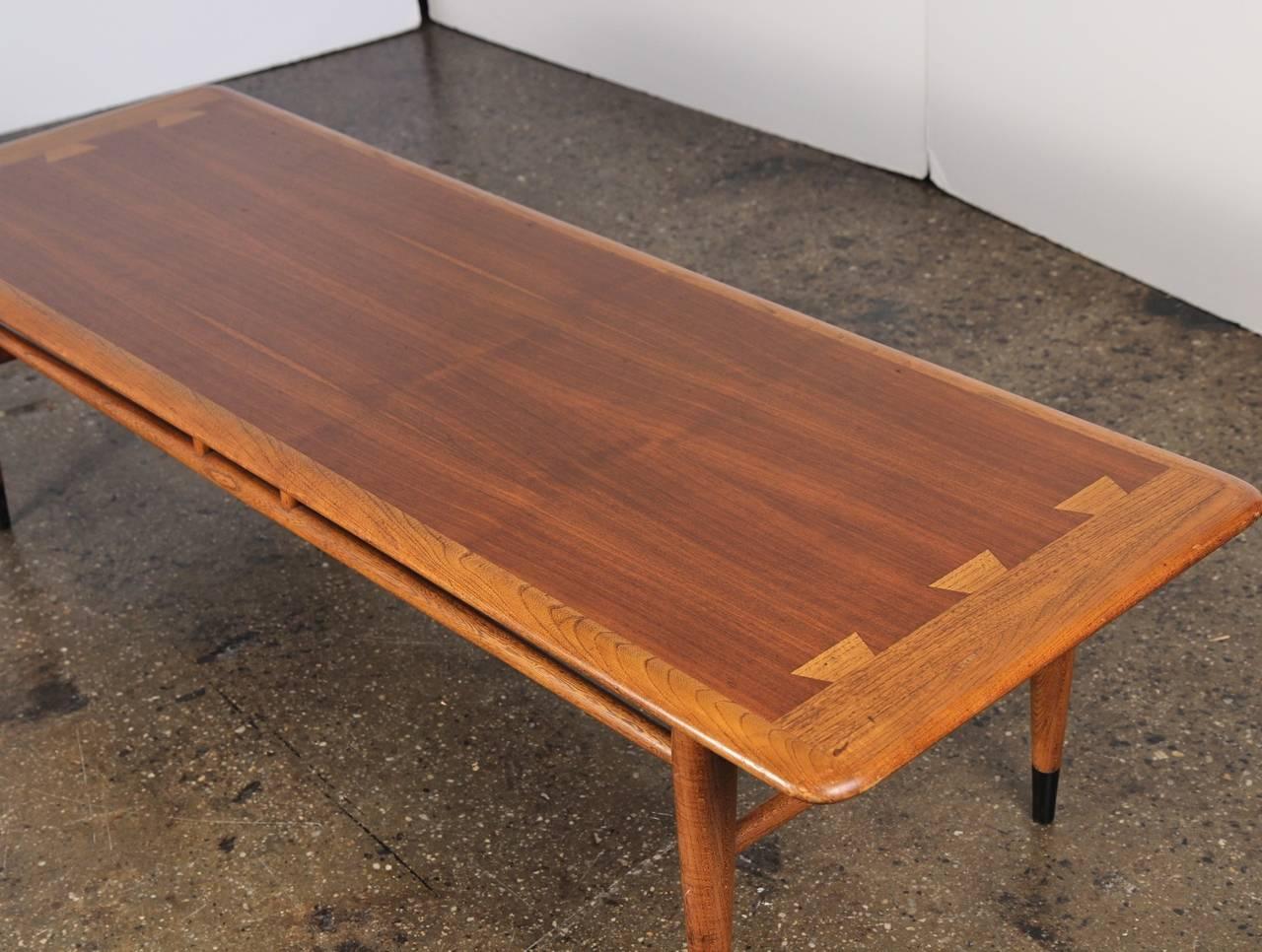 Mid Century Lane Coffee Table At 1stdibs