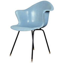 Vintage Molded Fiberglass Chair
