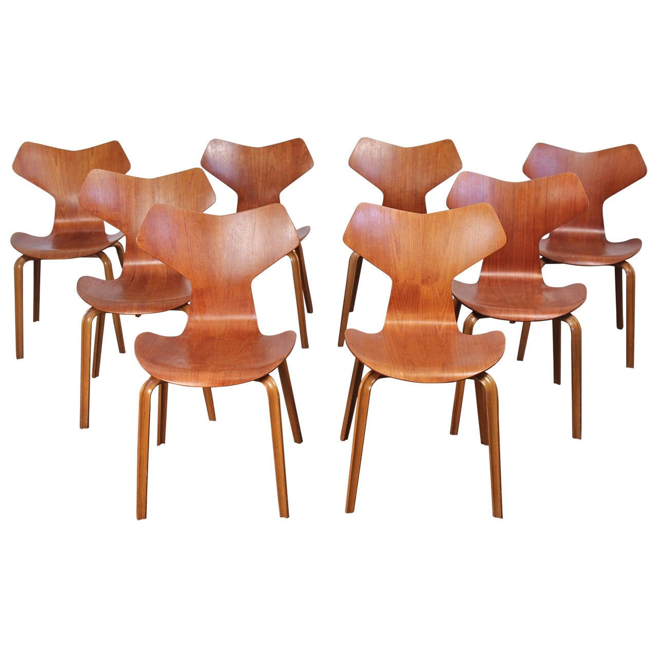 arne jacobsen grand prix chairs at 1stdibs. Black Bedroom Furniture Sets. Home Design Ideas