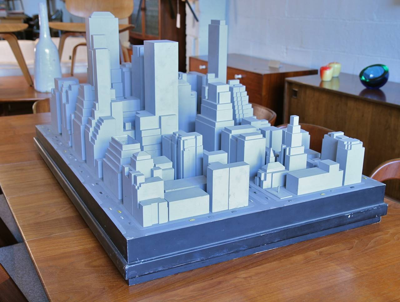 Scale model of mid town east manhattan at 1stdibs for Scale model furniture
