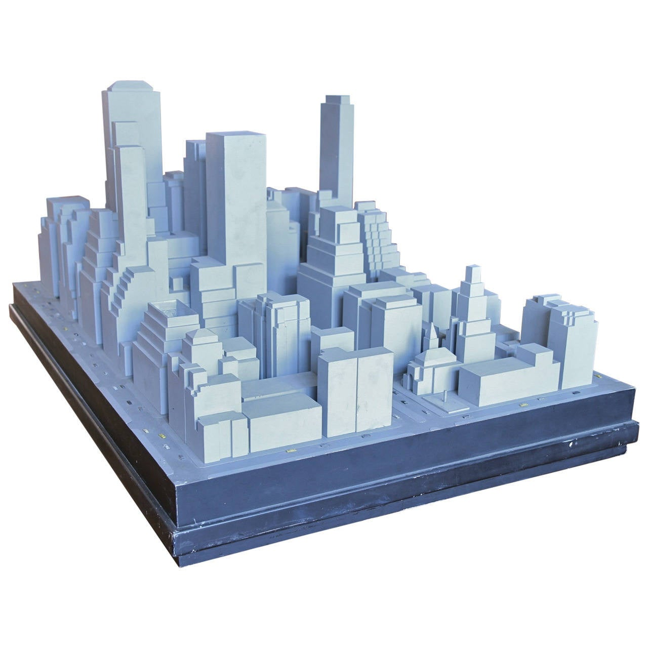 Scale model of mid town east manhattan at 1stdibs Scale model furniture