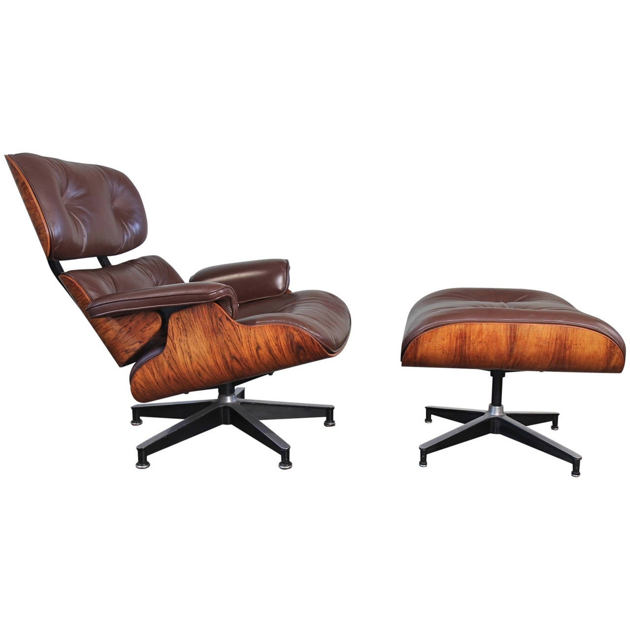 Eames 670 Lounge Chair and 671 Ottoman at 1stdibs