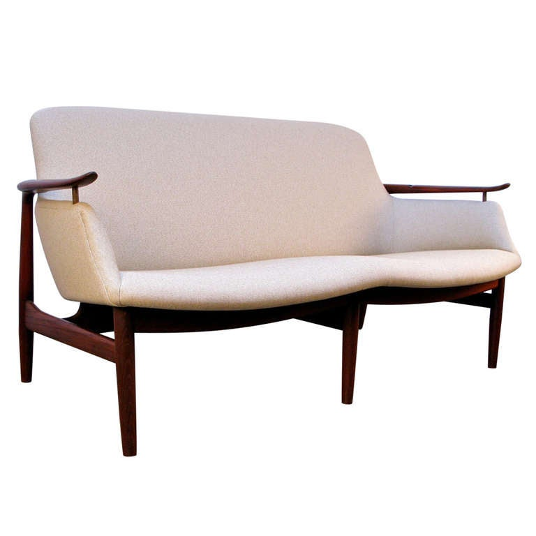 finn juhl nv 53 sofa at 1stdibs. Black Bedroom Furniture Sets. Home Design Ideas