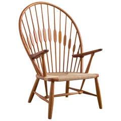 Peacock Chair by Hans Wegner