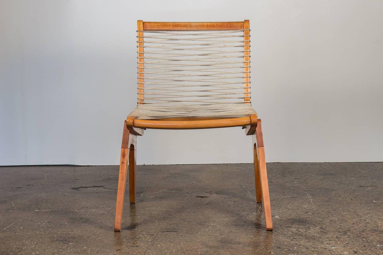 Kingston Rope Chair At 1stdibs