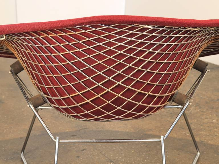 Vintage Large Bertoia Diamond Chair By Knoll For Sale 3