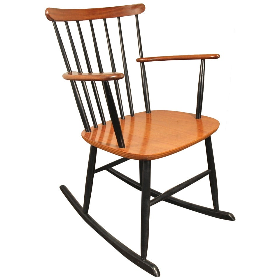 Danish modern rocking chair at 1stdibs for Rocking chair