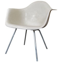 Rare 1953 Parchment Eames Shell Chair