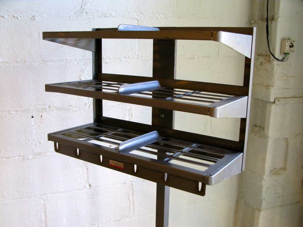 the office valet 1960s hat rack and umbrella stand at 1stdibs. Black Bedroom Furniture Sets. Home Design Ideas