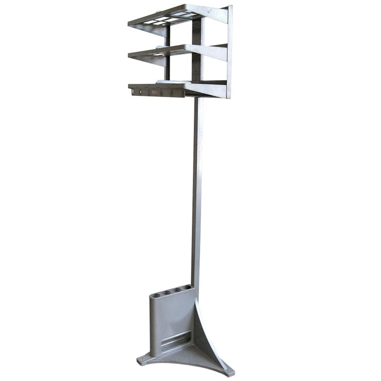 The Office Valet 1960s Hat Rack and Umbrella Stand at 1stdibs
