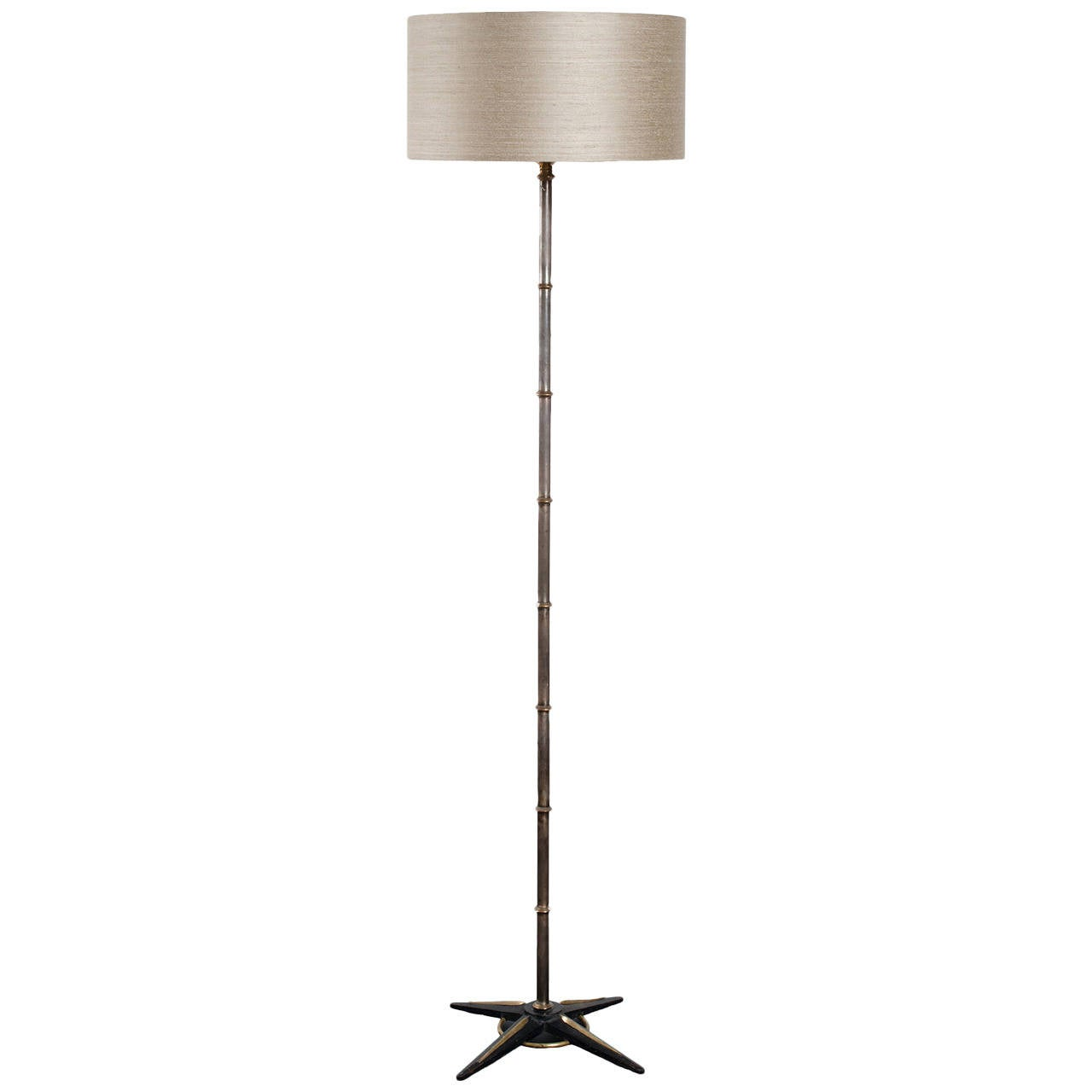 Jacques Adnet Style Floor Lamp