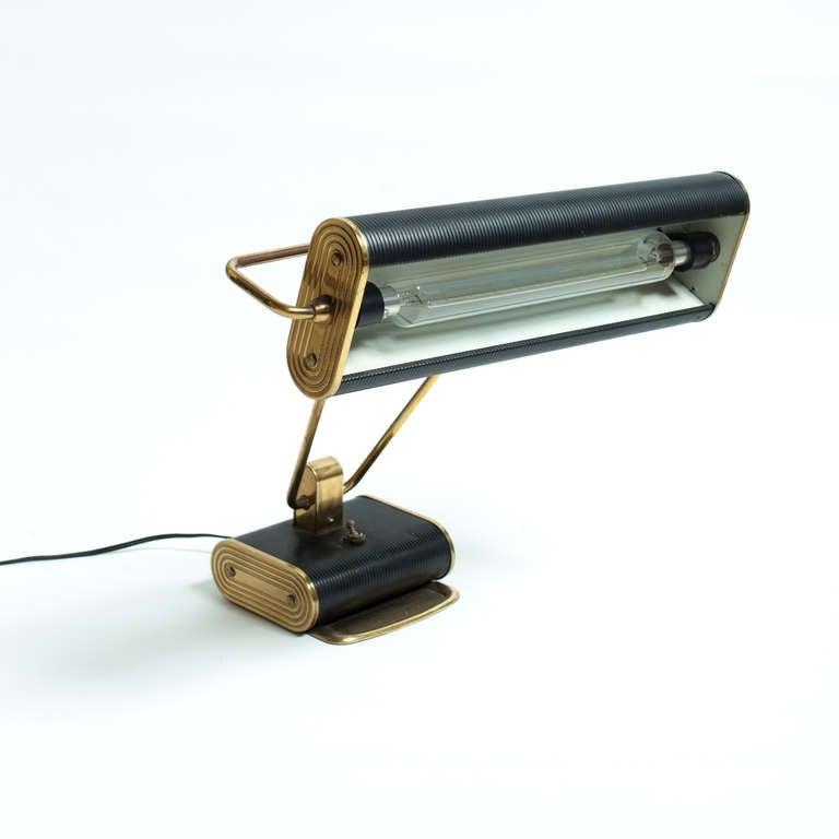 Desk Light For Art: Art Deco Desk Lamp By Eileen Gray At 1stdibs