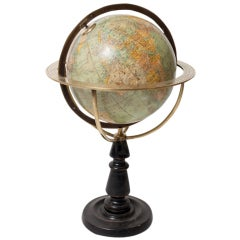 Early 20th C. Terrestrial Globe