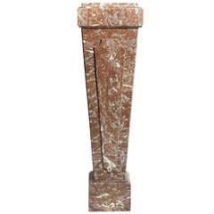 20th C. Marble Pedestal