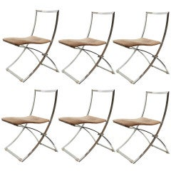 70´s Set of Dining Room Chairs by Marcelo Cuneo