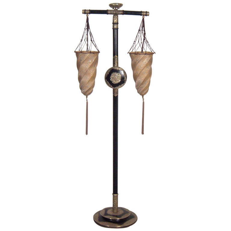 A Fortuny Standing Lamp At 1stdibs