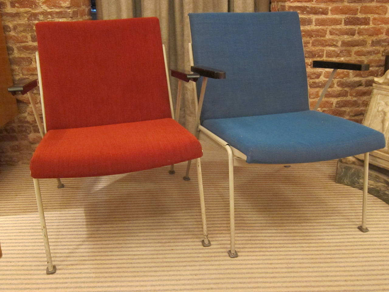 jeanneret for maison radieuse of le corbusier pair of. Black Bedroom Furniture Sets. Home Design Ideas