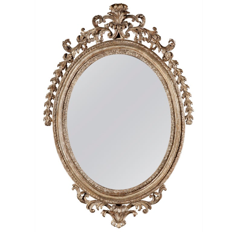 A Fine Italian Antique Mirror