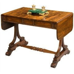 A Good End Support Sofa Table of the George IV Period