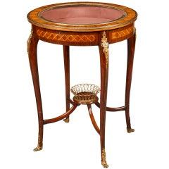 An Attractive Antique Bijouterie Display Cabinet
