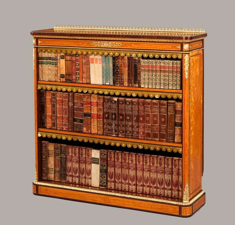 vintage bookcase for sale antique satinwood open bookcase for at 1stdibs 6779