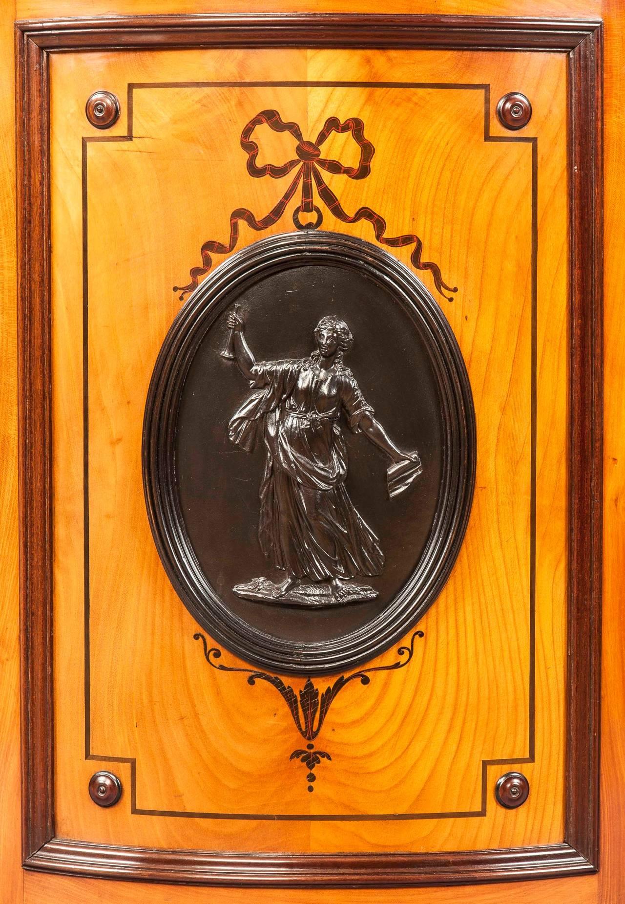Neoclassical Antique Kidney Desk