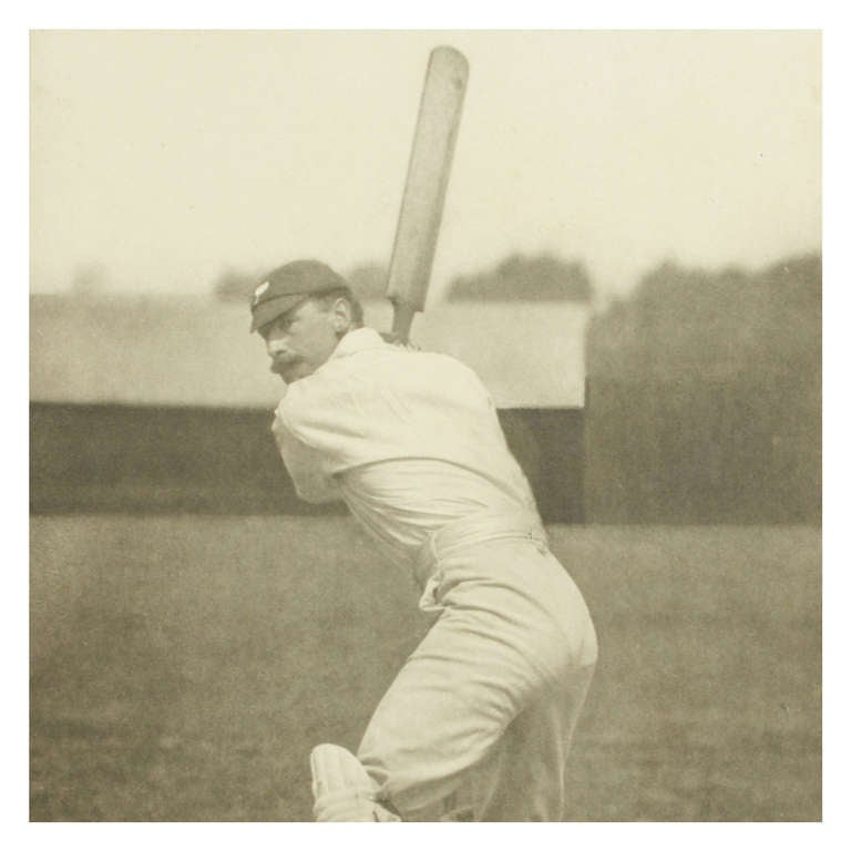 Vintage Cricket Print of F. S Jackson by George Beldam