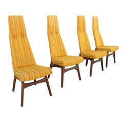 Adrian Pearsall High Back Dining Chairs for Craft Associates