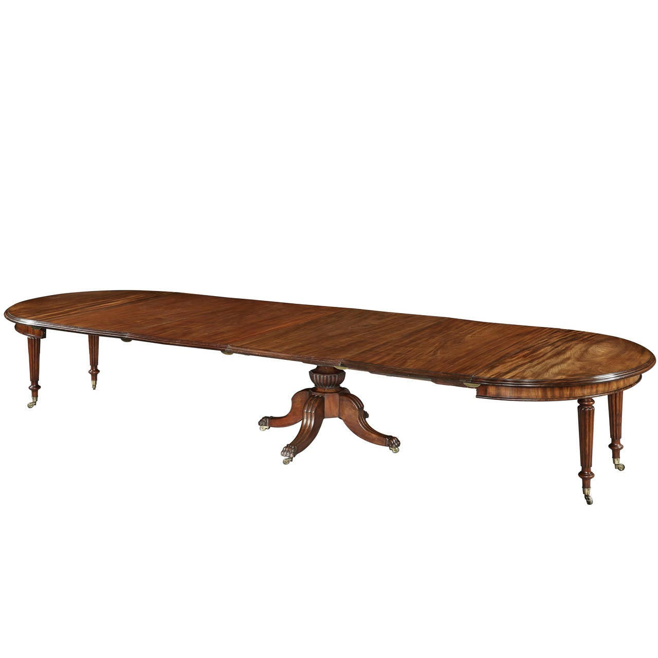 Georgian dining table at 1stdibs for Dining room table 32 wide