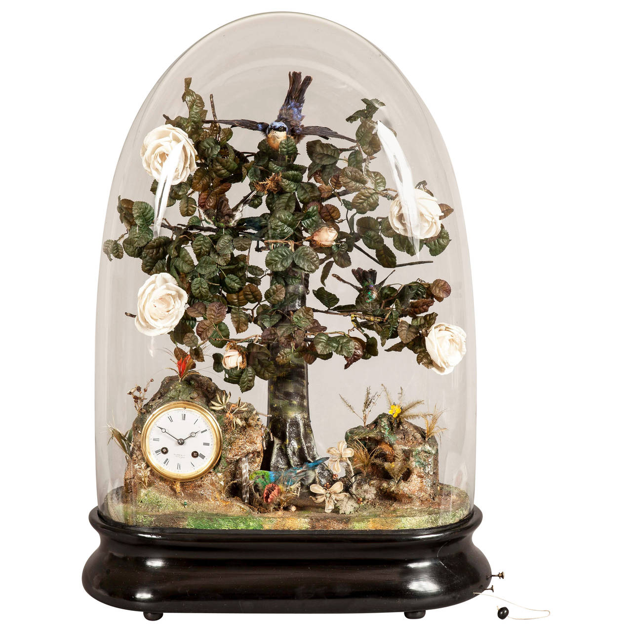Automata Table Clock by Nathan & Co. of Birmingham