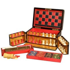 19th Century English Games Compendium Set