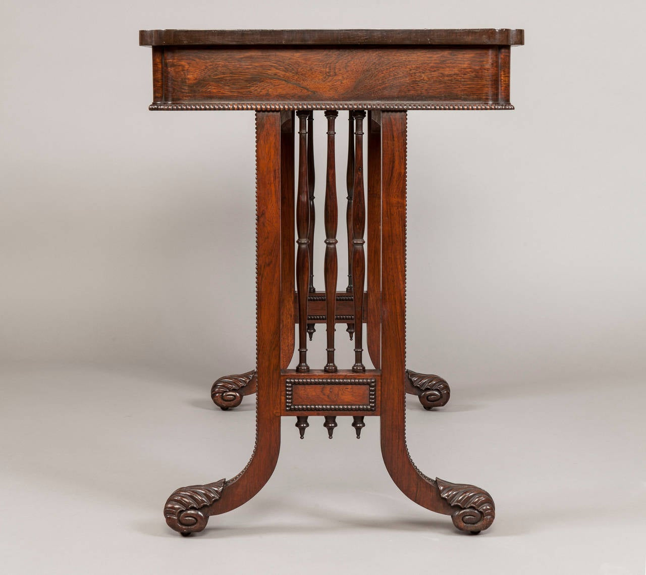 English George IV Period Games Table Attributed to Gillows of Lancaster For Sale