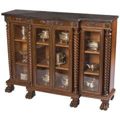 George IV Display Cabinet of Small Size