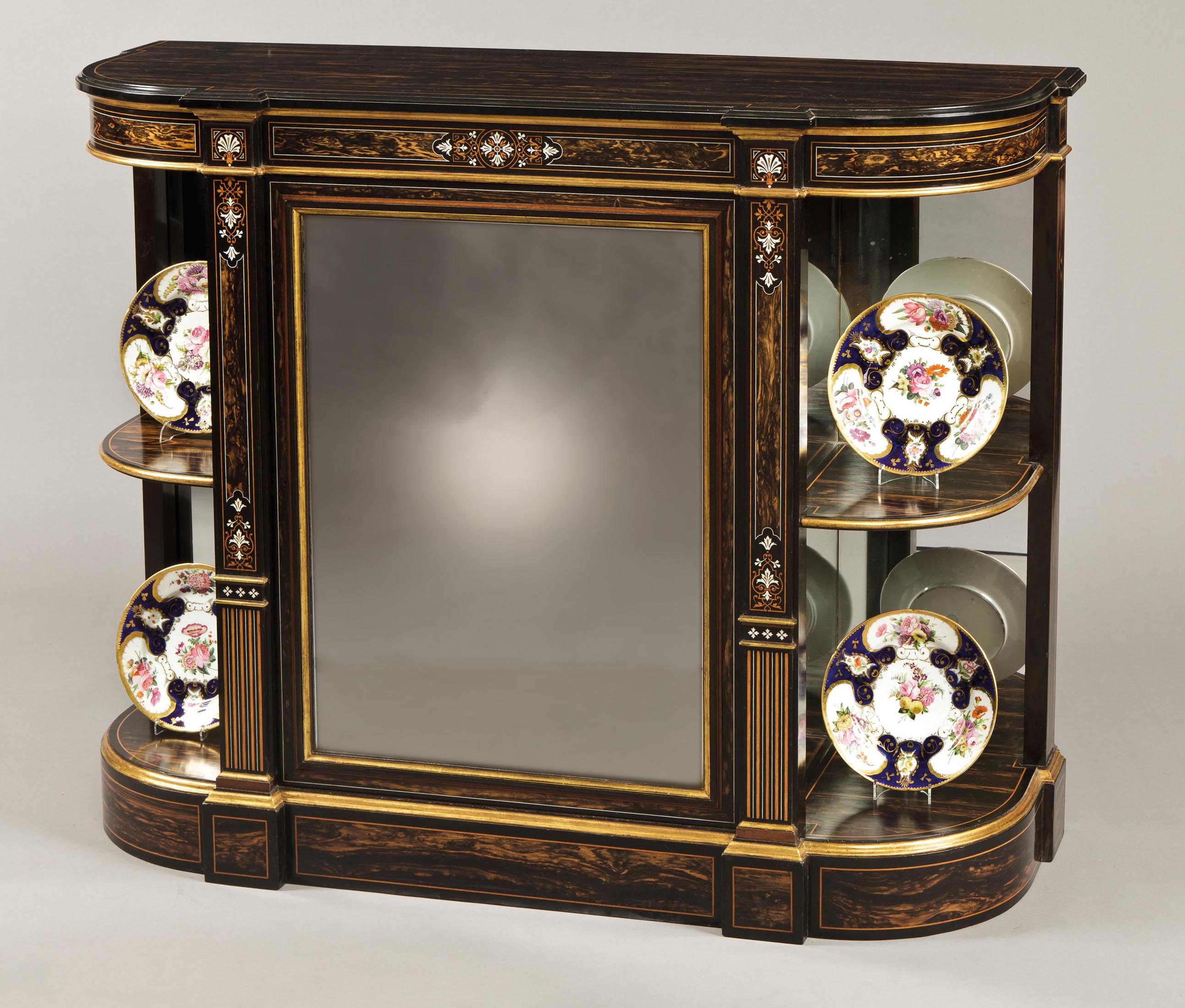 Good Antique Drawing Room Cabinet Attributed to Jackson & Graham