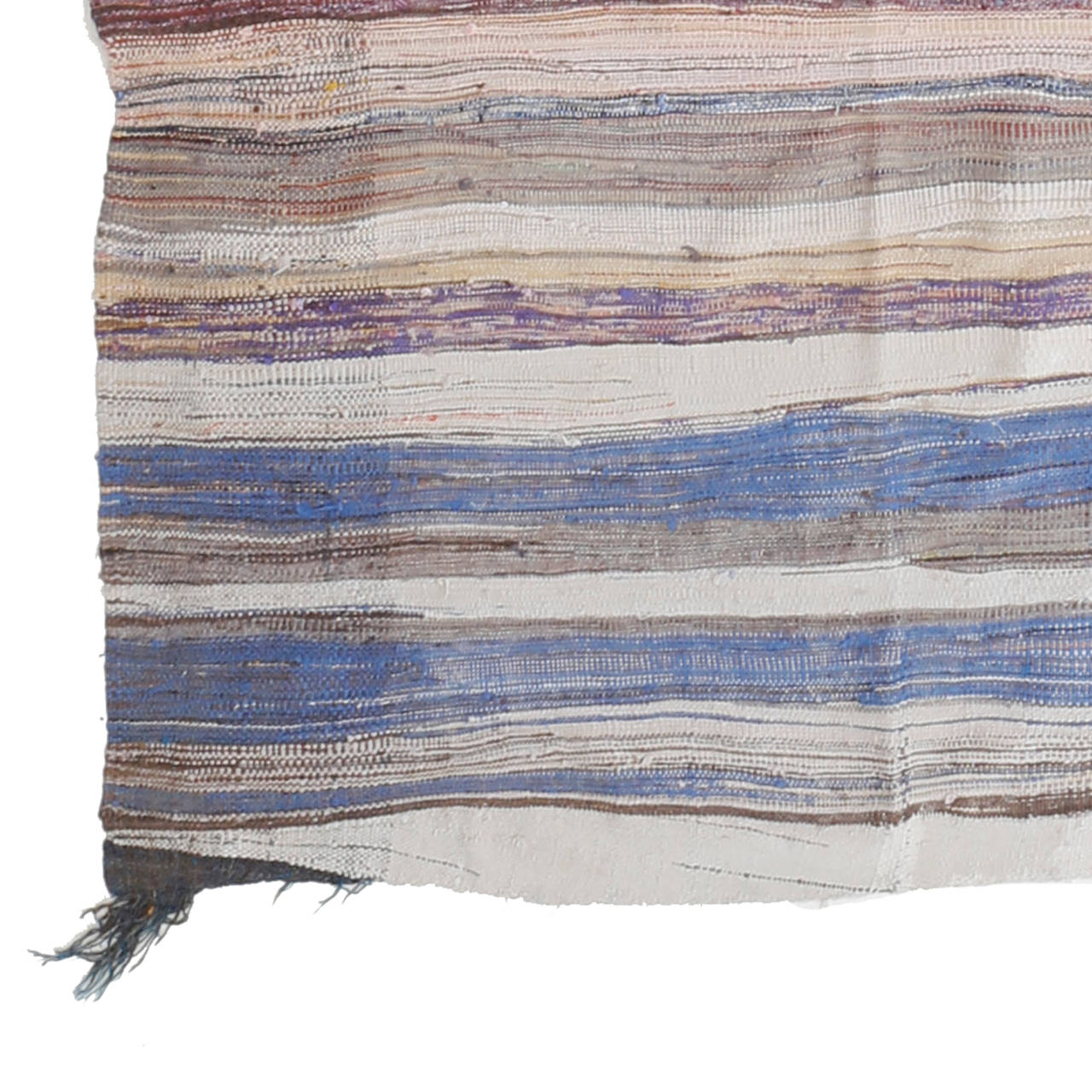 Moroccan Boucherouite Rug For Sale At 1stdibs: Boucherouite Moroccan Berber Flat-Weave Rug For Sale At