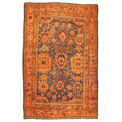 Oushak Carpet with Large Palmettes