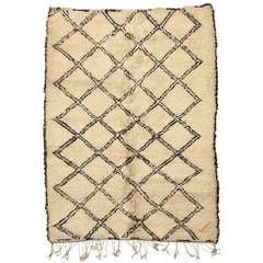 Small Beni Ouarain Carpet